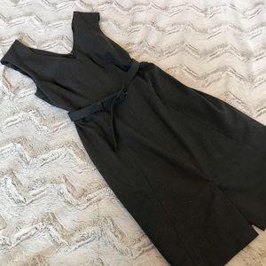 Banana Republic Grey Belted Dress sz 0
